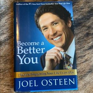 Become A Better You Joel Osteen Book Religion